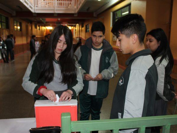 Elección del centro de alumnos 2018-2019